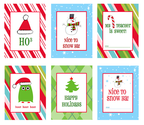 Craft Ideas  Tags on Christmas Gift Tags   Labels  Free Printables    Living Locurto